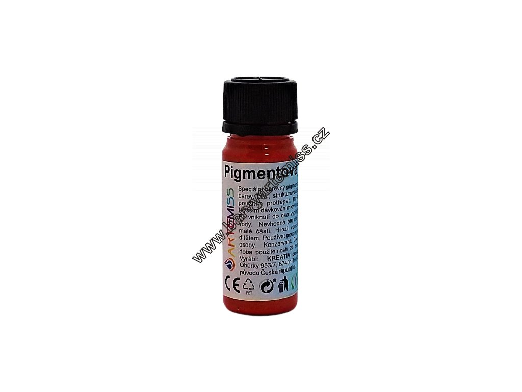 pigmentová pasta artemiss červená