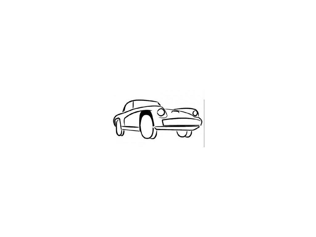 Auto - plastová šablona 049
