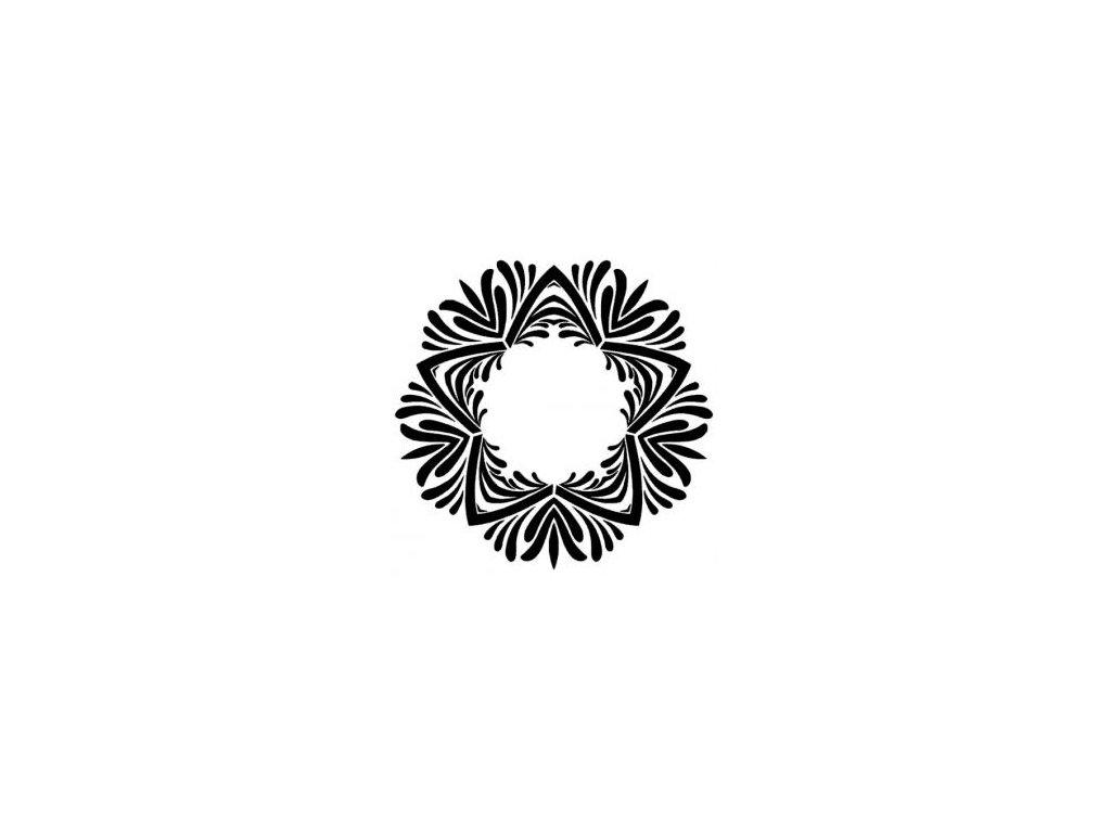 Mandala - plastová šablona 050