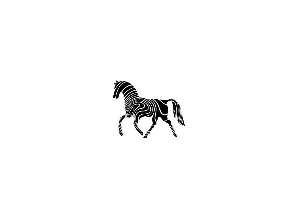 Kůň - plastová šablona 052