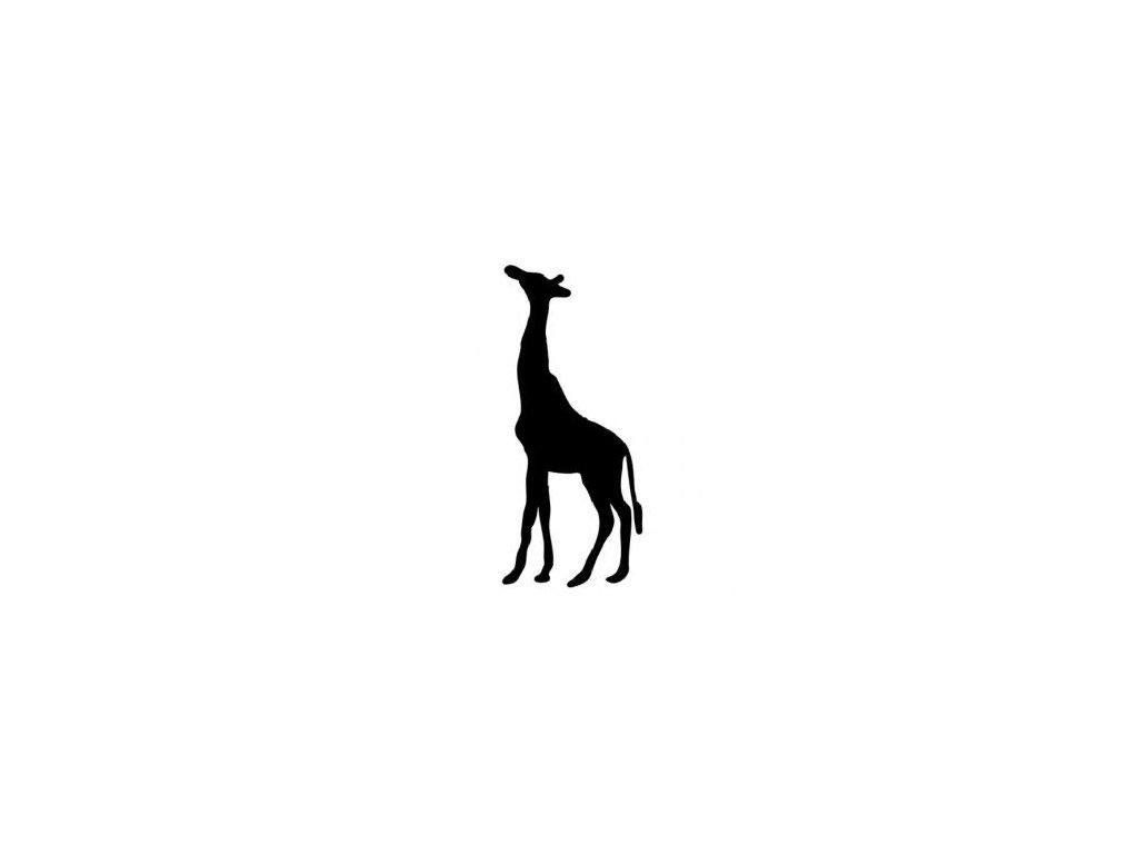 Žirafa - plastová šablona 057