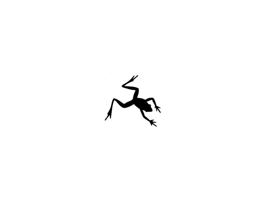 Žábá skokan - plastová šablona 092