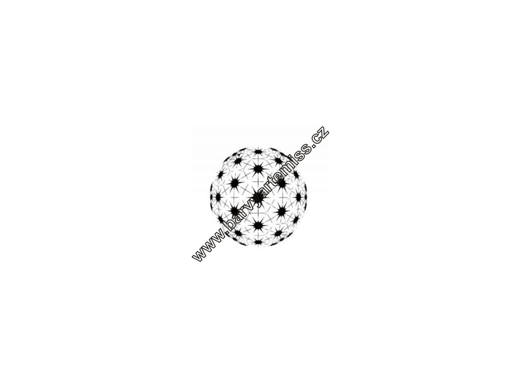 Koule - plastová šablona 105