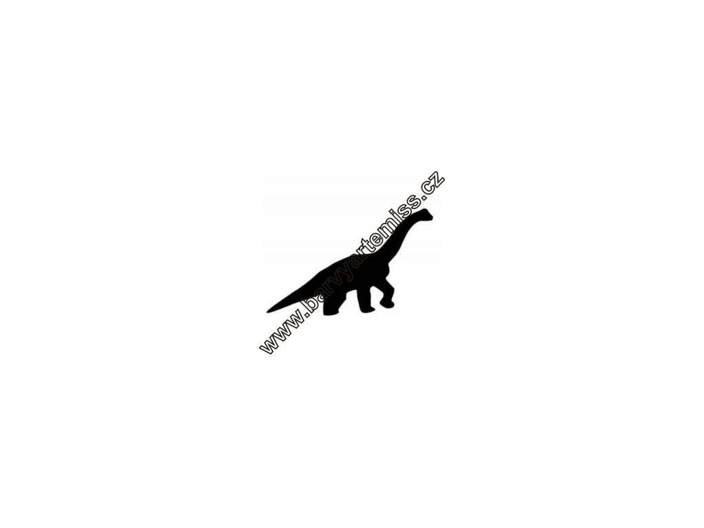 Dinosaurus - plastová šablona 113