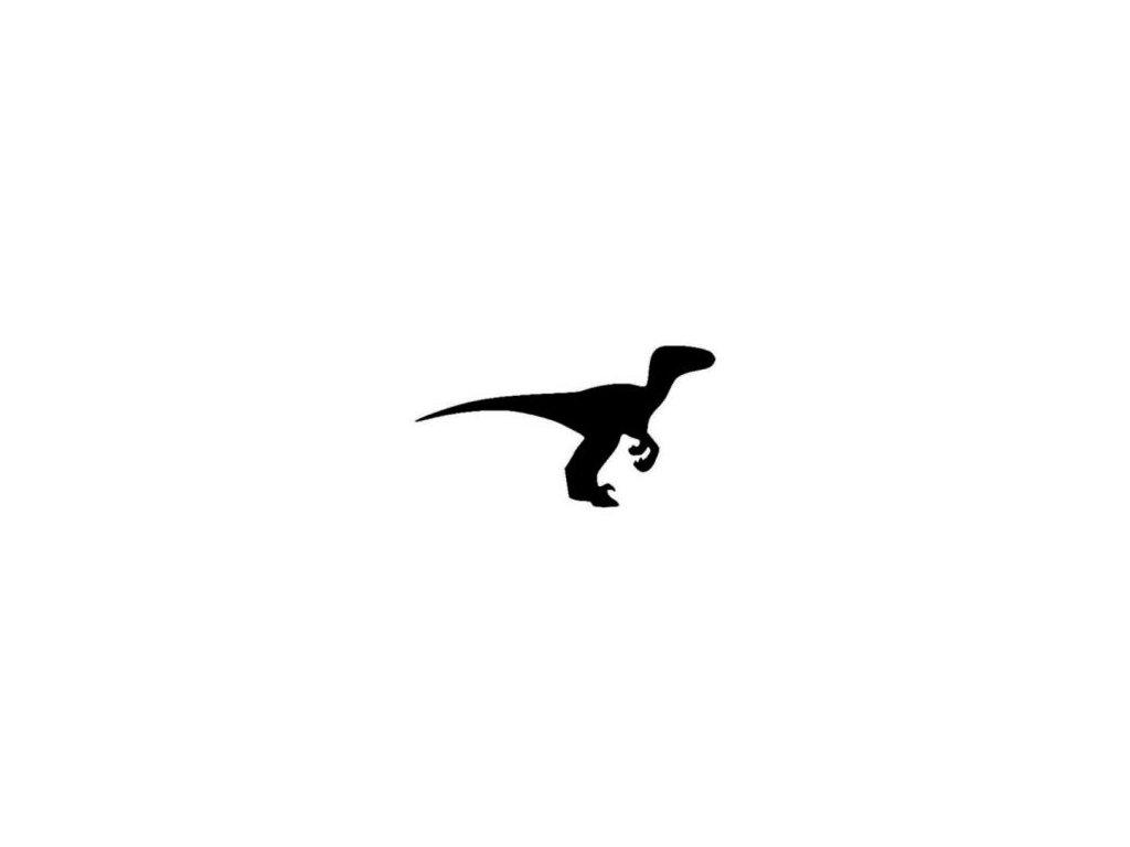 Tyranosaurs - plastová šablona 114