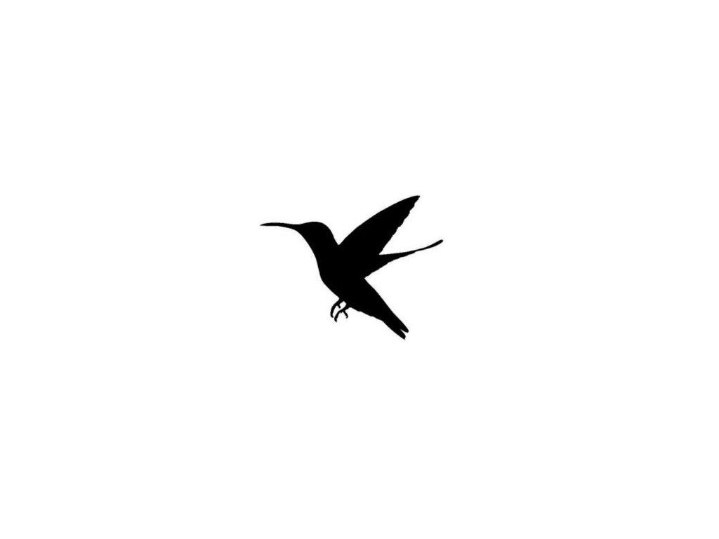 Pták - plastová šablona 135