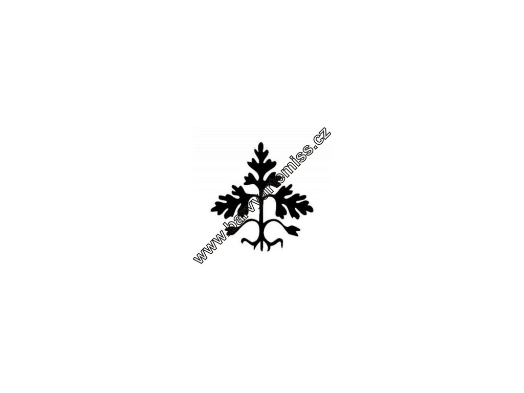 Strom - plastová šablona 153