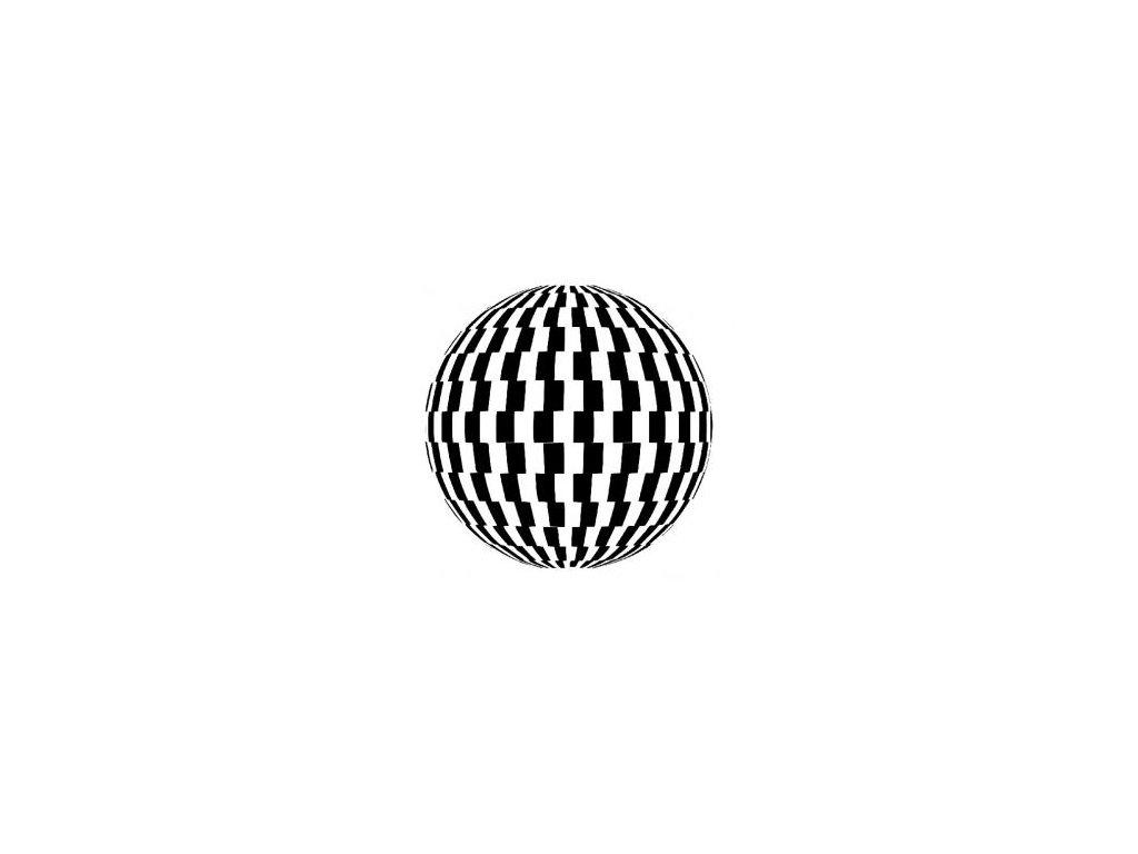 Koule - plastová šablona 170