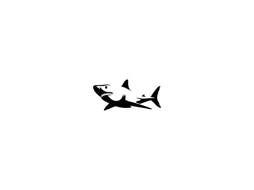 Žralok - plastová šablona 230