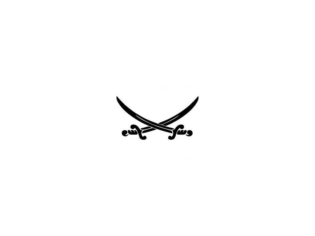 Meče - plastová šablona 237