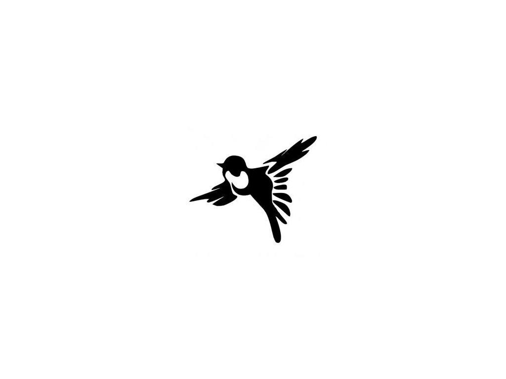 Ptáček - plastová šablona 260