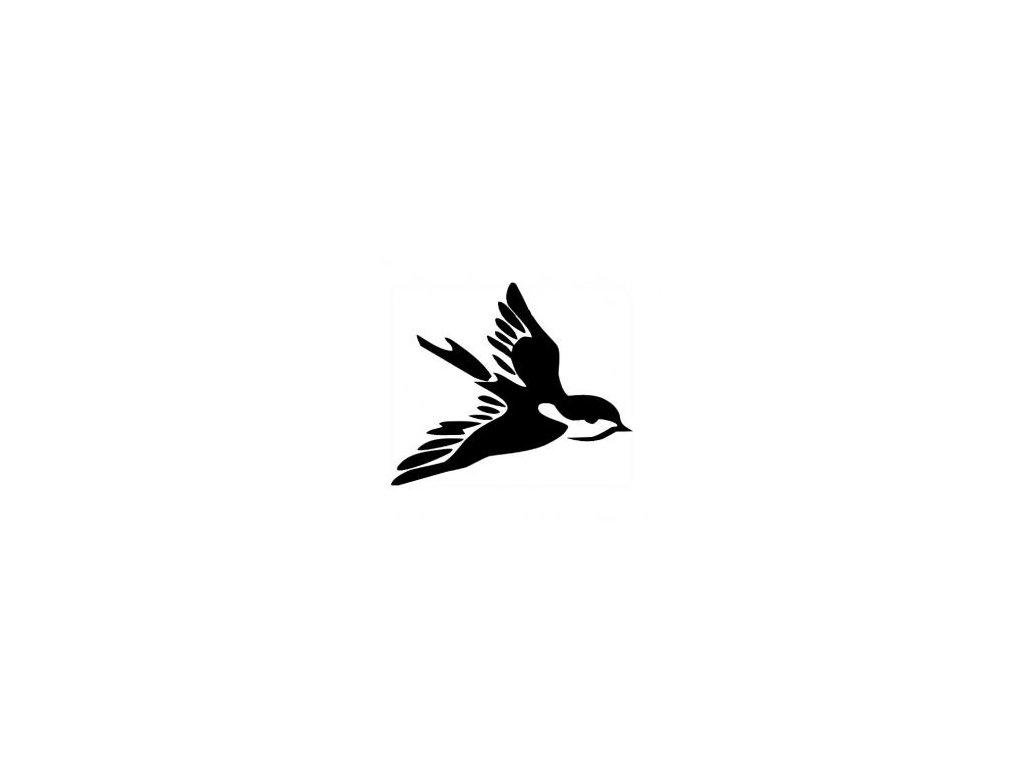 Ptáček - plastová šablona 261