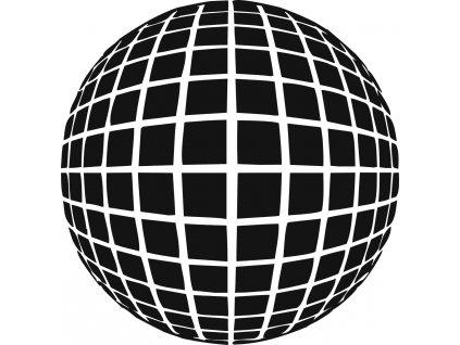 Koule - plastová šablona 304