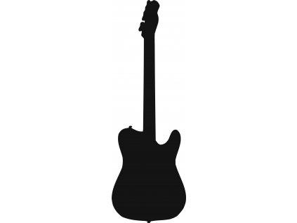Kytara - plastová šablona 295
