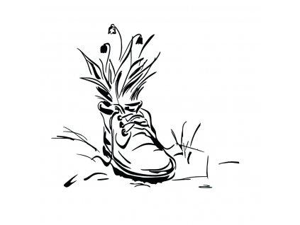 bota s konvalinkami