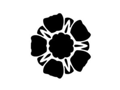 Květ - plastová šablona 102