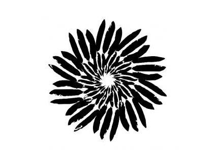 Mandala - plastová šablona 202
