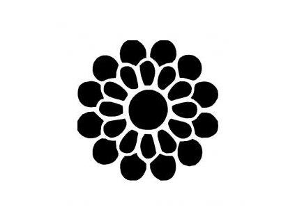 Mandala - plastová šablona 220