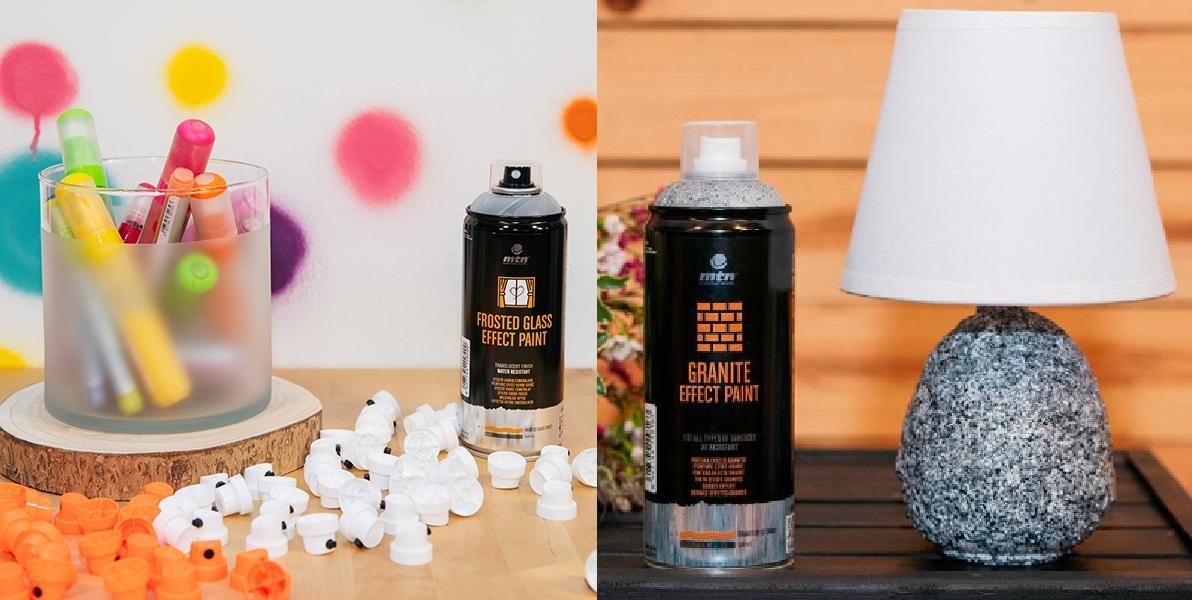 MTN Effect paints - spreje s různými efekty