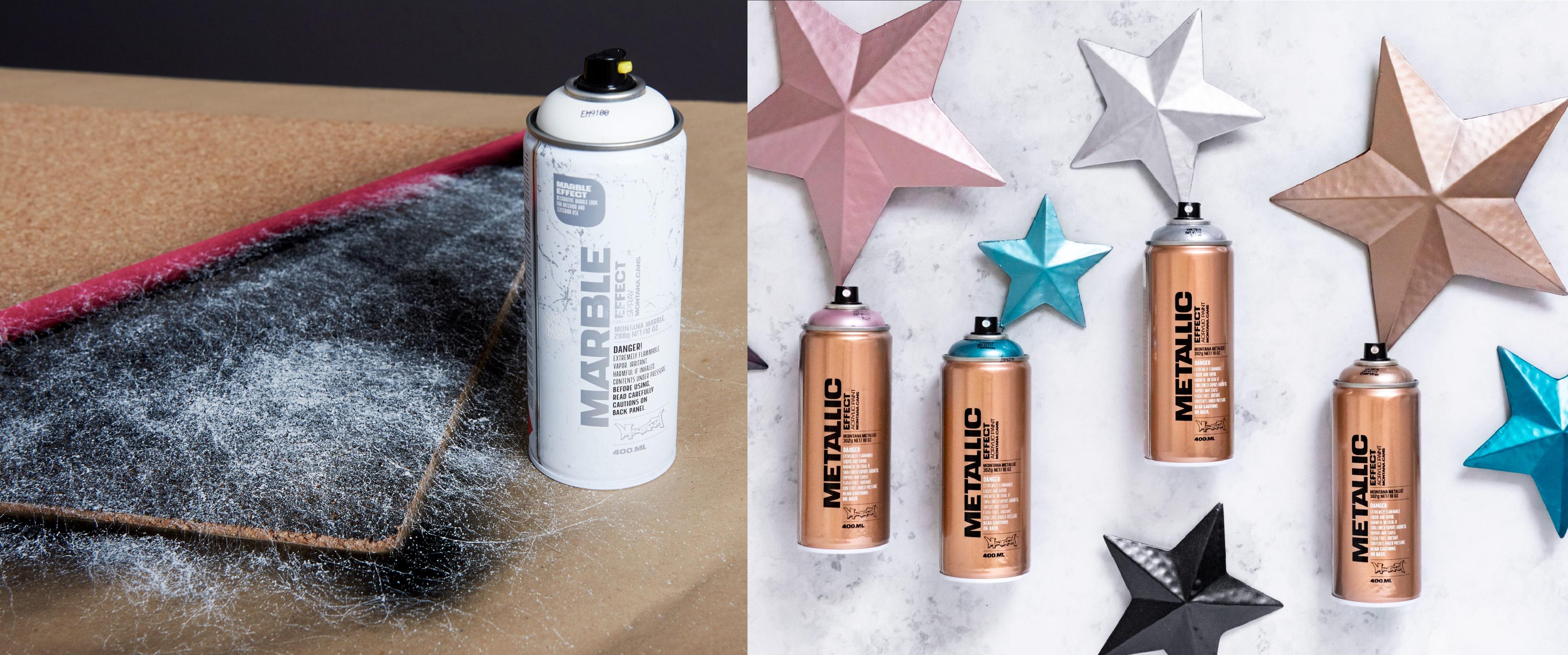 Montana effect sprays - dekorační a efektové spreje