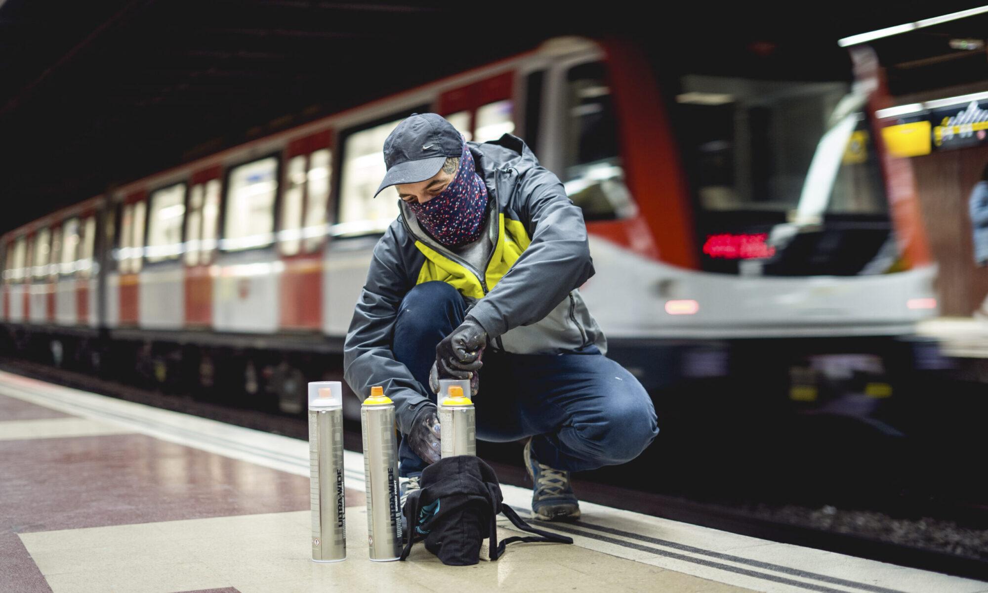 Montana action sprays - optimalizováno pro graffiti