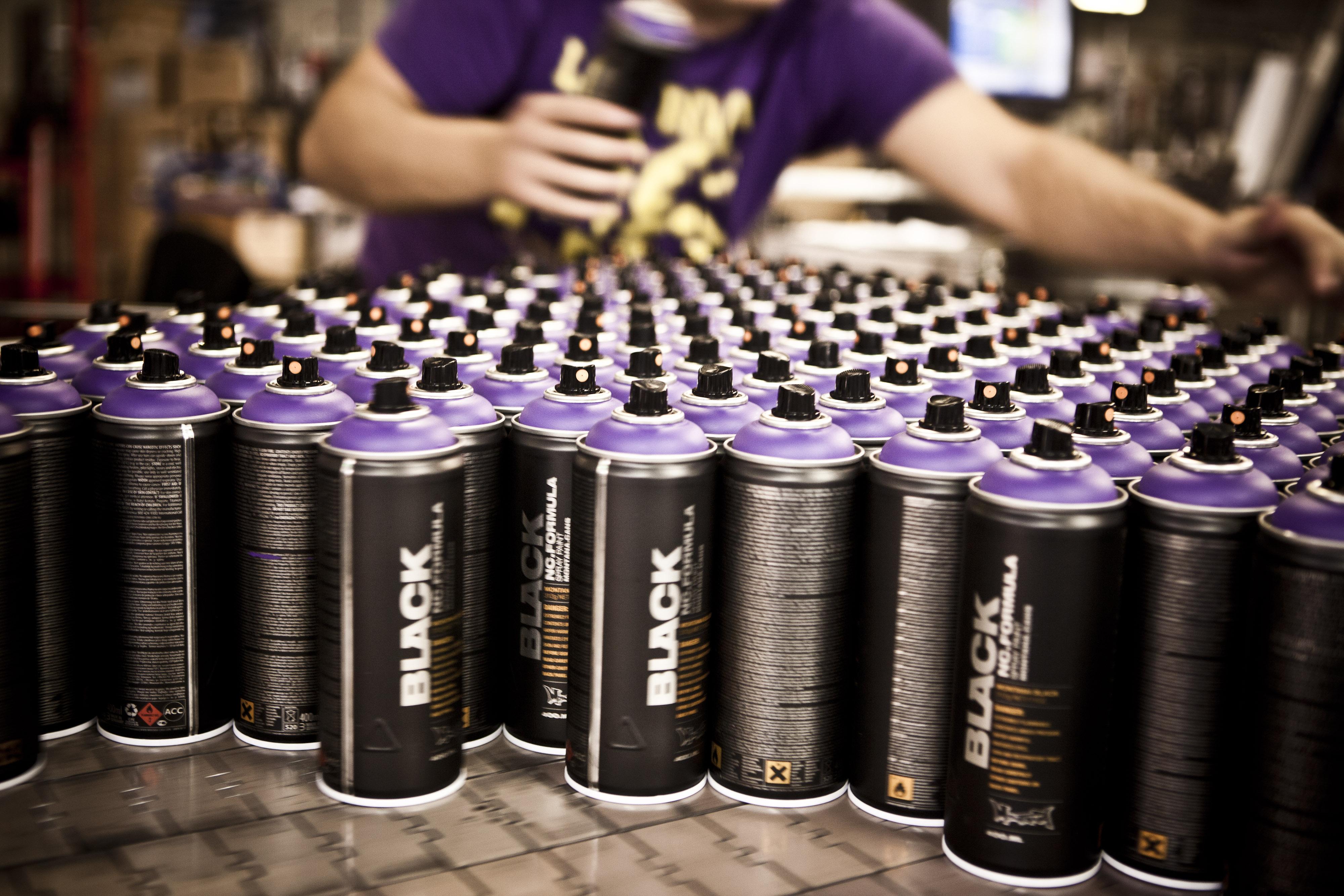Montana Black - Graffiti spray paint