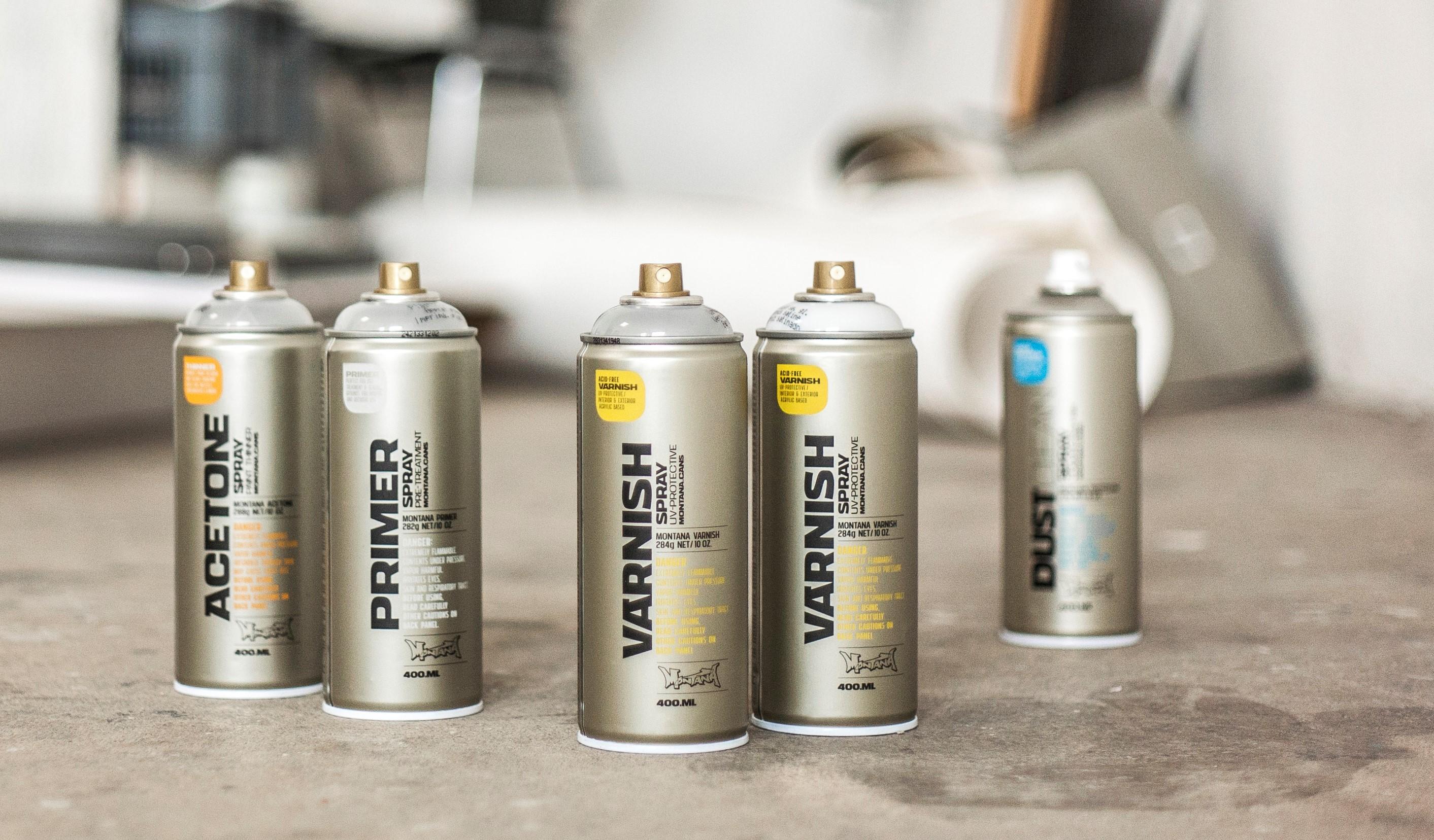 Montana Tech sprays - technické spreje