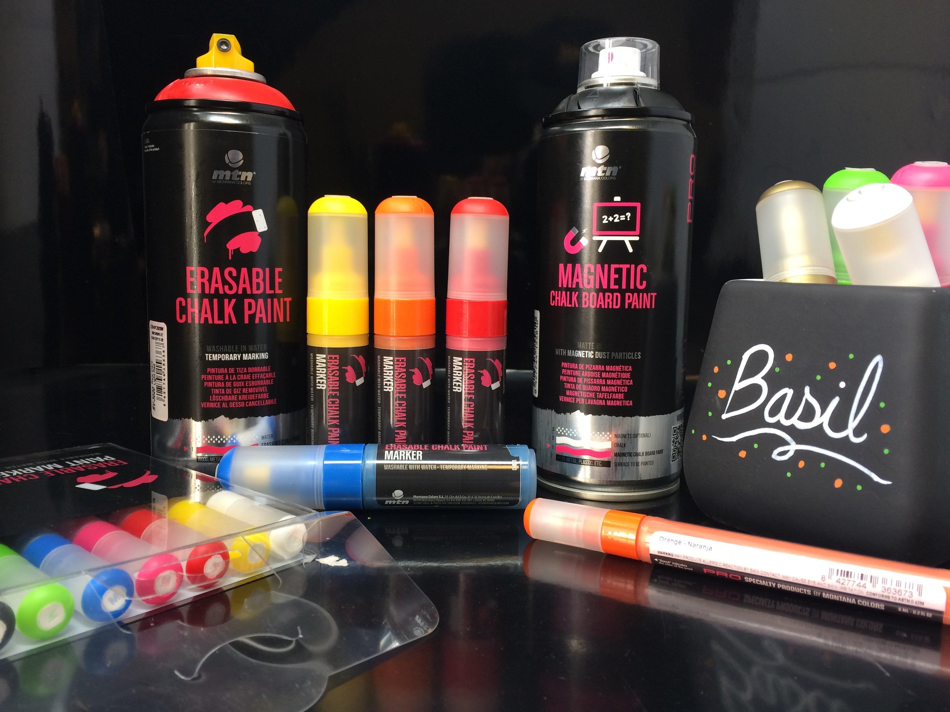 MTN Chalk paint - křídové barvy ve spreji