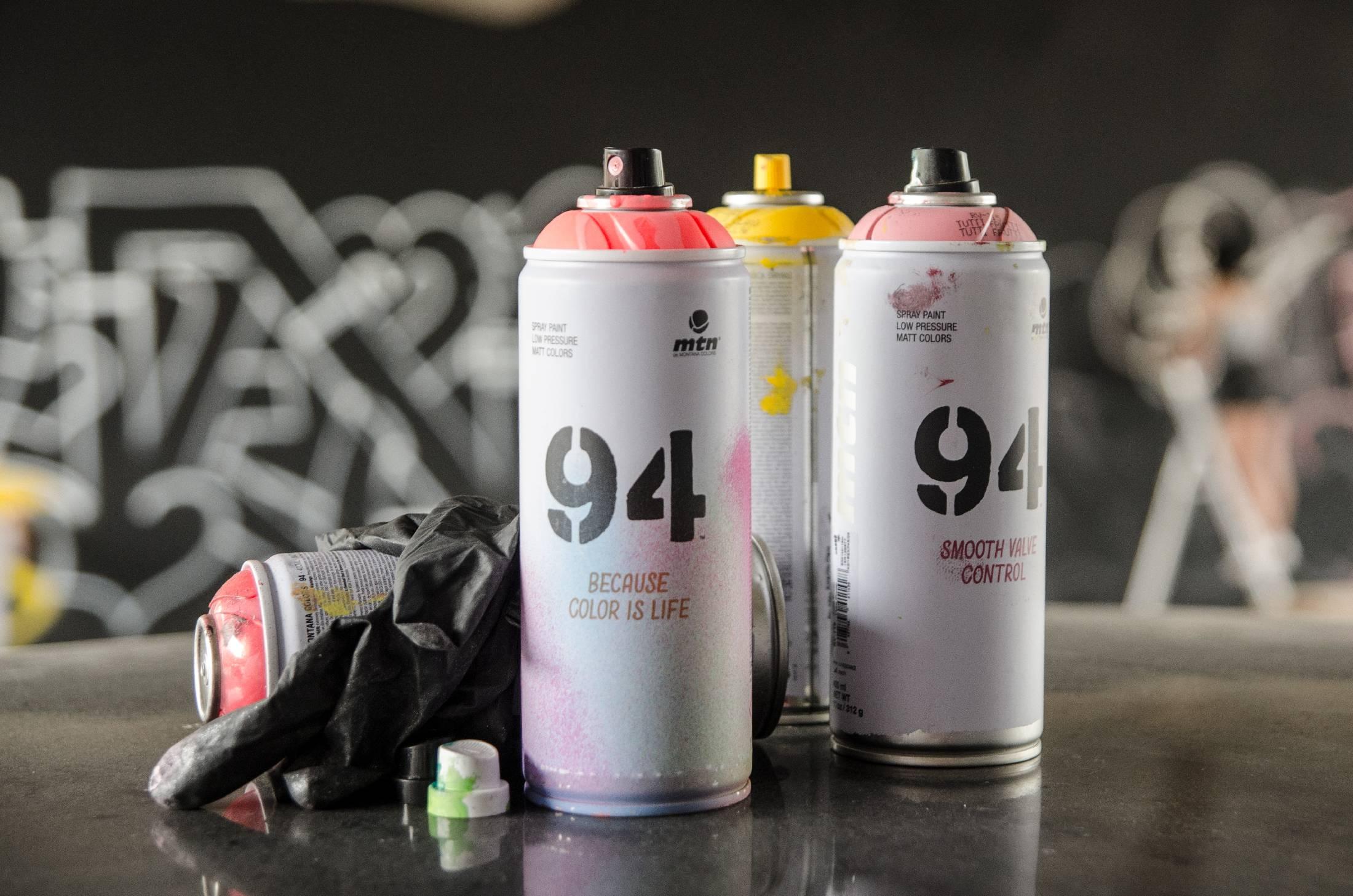 MTN 94 spray paint - matné barvy ve spreji