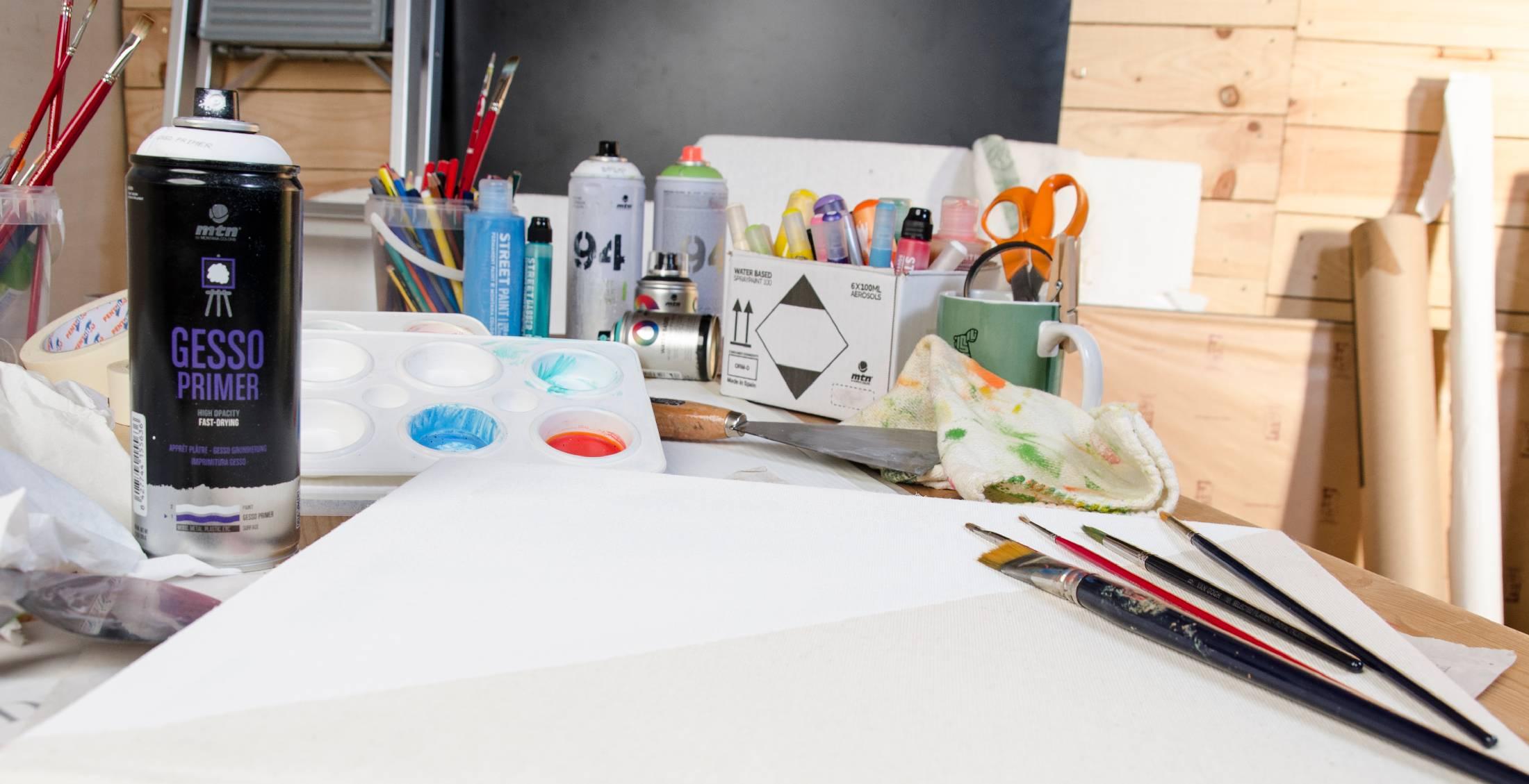 MTN Fine art  - nástroje pro uměleckou tvorbu