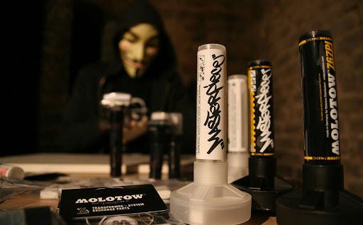 Molotow action markers - optimalizováno pro graffiti