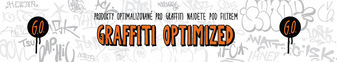 Graffiti optimized - spreje, fixy a potřeby pro graffiti