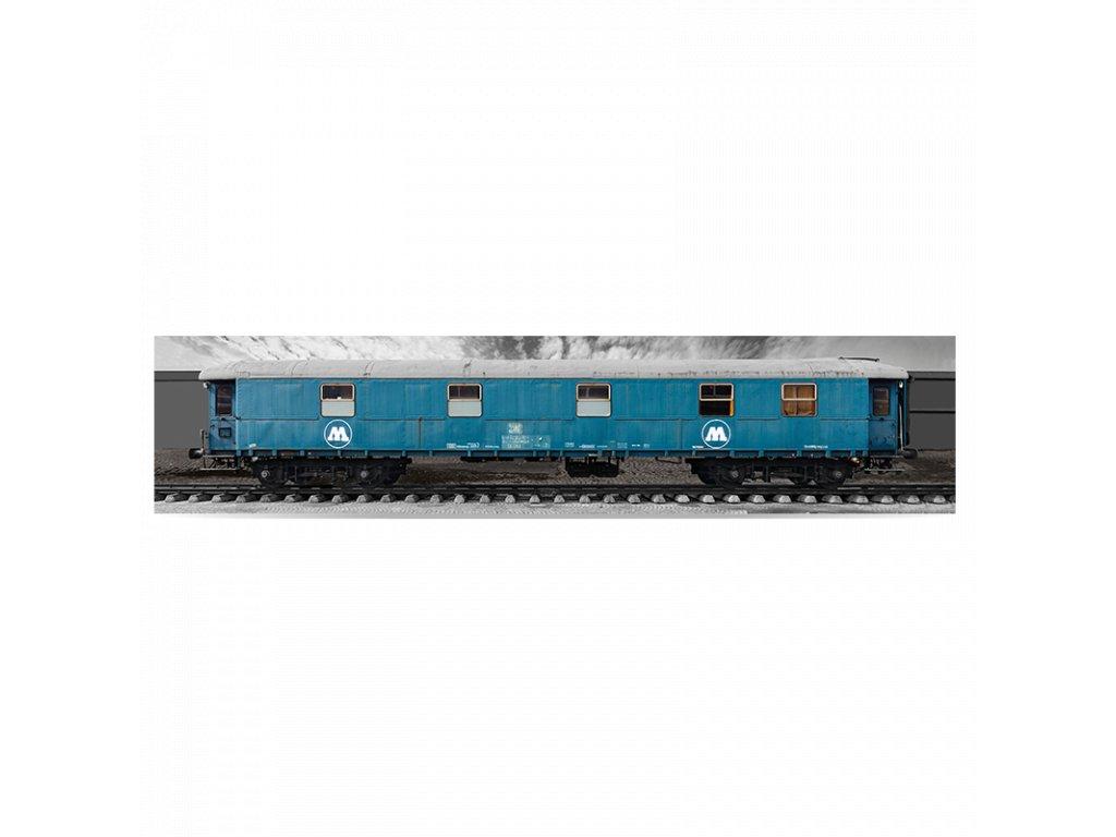 Molotow Train 3D poster big  K pomalování