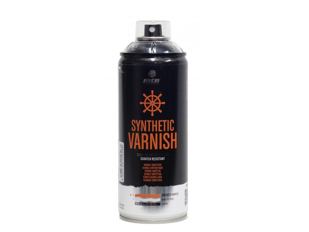 MTN Synthetic Varnish glossy 400 ml  Transparentní lak