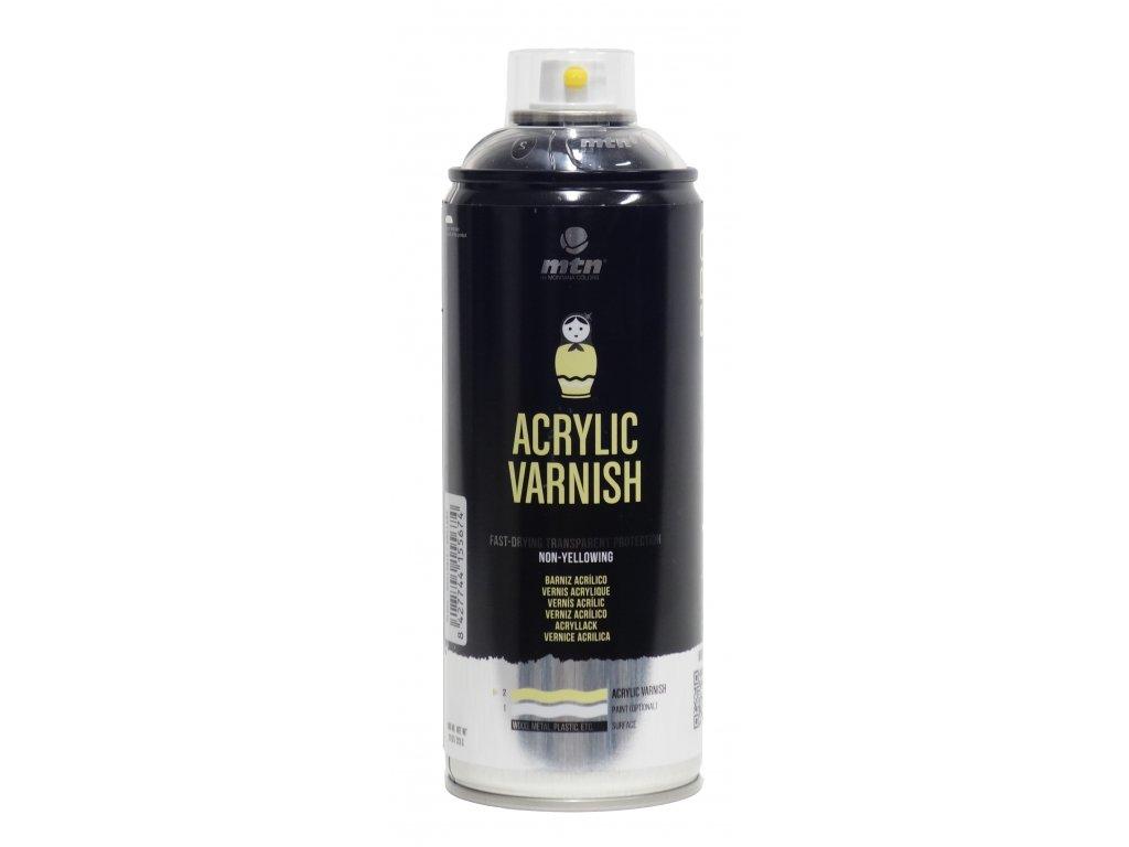 MTN Acrylic Varnish satin 400 ml  Transparentní lak