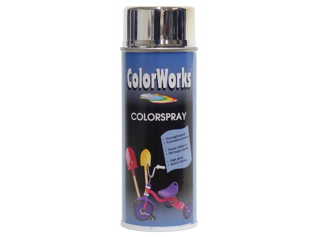 chrome effect spray