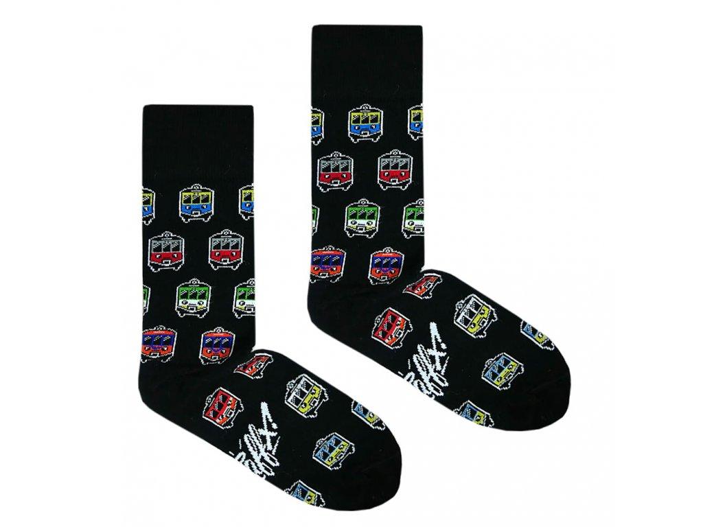 Ponožky EN-57 vlaky 1