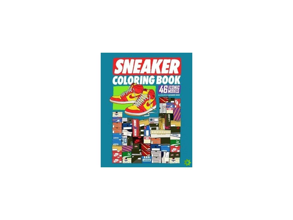 sneaker coloring book id6155801