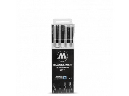 Molotow Blacklinner 4 set A  Výhodné balení