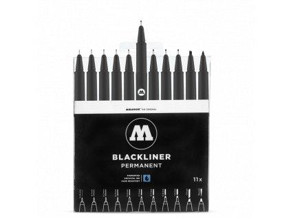 Molotow Blacklinner complete set  Výhodné balení