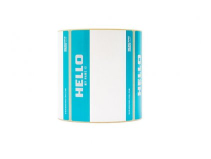 MONTANA HELLO MY NAME ROLL OF STICKERS+copy