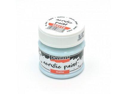 pentart akrylova farba matna ice blue 8797