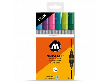 molotow twin marker set