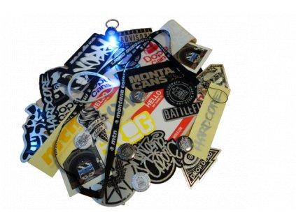 Promotion super pack  nálepky+merchandise