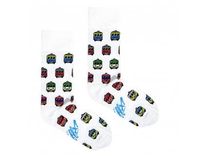 Ponožky EN-57 vlaky 2
