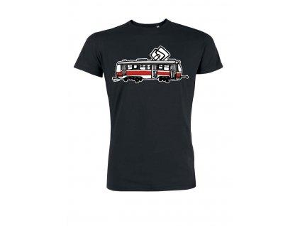 Pánské tričko Brno černé