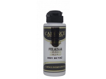 Cadence Premium akrylové barvy 120 ml  Černá+bílá
