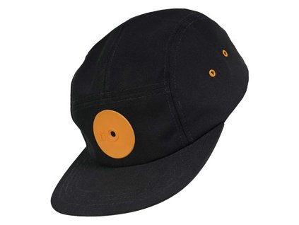 mr. serious orange dot fat cap black orange 1230 medium 0