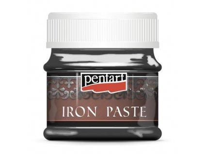 Pentart pasta s efektem kovu 50 ml  Šedá a hnědá