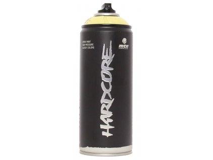 MTN hardcore barva ve spreji zluta